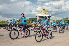 Sakonnakhon,泰国, 8月16-2015 :这个事件是 库存照片