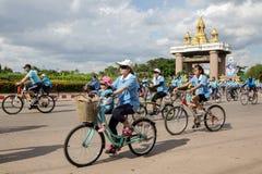 Sakonnakhon,泰国, 8月16-2015 :这个事件是 库存图片