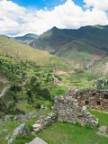 Sakral dal av Incas Fotografering för Bildbyråer