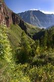 Sakral dal av incasna - Peru Royaltyfria Bilder
