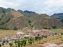 sakral dal för incas Arkivbild