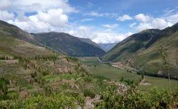 sakral dal för incas Royaltyfri Bild