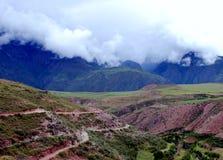 sakral dal för liggande Arkivbild