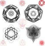 sakral geometri royaltyfri fotografi
