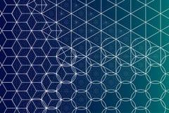 Sakral geometrisymbol- och beståndsdelbakgrund Arkivbilder