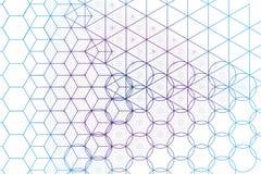 Sakral geometrisymbol- och beståndsdelbakgrund Arkivbild