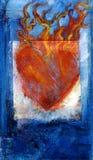 sakral hjärta Arkivbilder