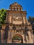 Sakral kloster av Agios Gerasimos av Kefalonia den grekiska ön, Grekland fotografering för bildbyråer