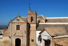 Sakral konstmusem, Osuna, Spanien. arkivbild