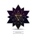 Sakrala geometriformer stock illustrationer