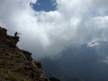 Sakraler Himalaja Chandrashilla Lizenzfreie Stockbilder