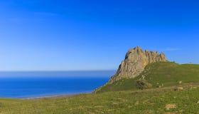 Sakralt berg Beshbarmak i Azerbajdzjan royaltyfri bild
