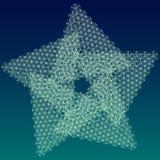 Sakralt geometristjärnasymbol Fotografering för Bildbyråer