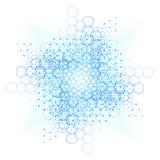 Sakralt geometristjärnasymbol Royaltyfria Bilder