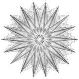 Sakralt geometritecken Uppsättning av symboler och beståndsdelar Alkemi religion, filosofi royaltyfri illustrationer
