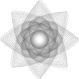 Sakralt geometritecken Uppsättning av symboler och beståndsdelar Alkemi religion, filosofi vektor illustrationer