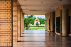 Sakralt objekt av universitetet i Thailand Royaltyfri Bild
