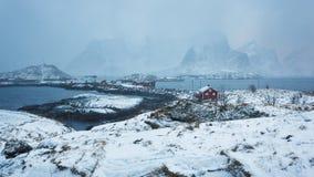 Sakrisoy village, Lofoten Stock Image