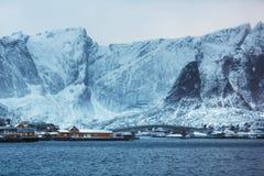 Sakrisoy village, Lofoten Stock Photo