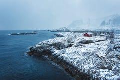 Sakrisoy village, Lofoten Stock Photography