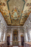 SakristiaSao Vicente de Fora Monastery Lisbon Arkivbilder