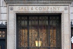 Saks & Company New York City Stock Images