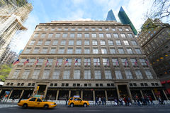 Saks femte ave, Manhattan, New York City Royaltyfria Bilder