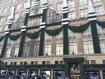 Saks Fifth Avenue à New York Photo libre de droits