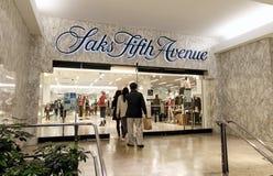 Saks Fifth Avenue department store stock photos