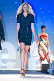 Saks Fifth Avenue Fashion Show Stock Photography