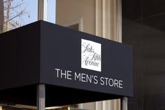 Saks Fifth Avenue Men's Store Entrance Stock Photos