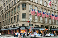 Saks Fifth Avenue New York City Stock Photos