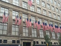 Saks Fifth Avenue Store in New York City Stock Image