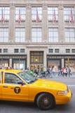Saks som bygger, New York City arkivbilder