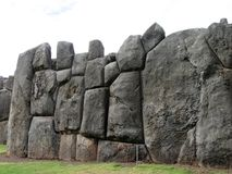Saksaywama,秘鲁 图库摄影