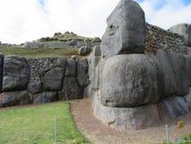 Saksaywama, Перу Стоковое Изображение