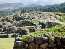 Saksaywaman, Cusco, Pérou Image libre de droits