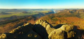 Saksen Zwitserland Royalty-vrije Stock Foto