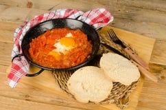 Sakshuka, Jewish food Royalty Free Stock Image