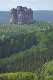 Saksisch Zwitserland, Duitsland Stock Afbeeldingen