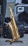 saksofon zdjęcia stock