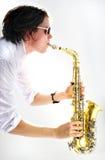 saksofon Obraz Royalty Free