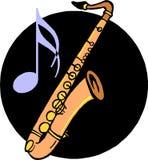 saksofon Fotografia Royalty Free