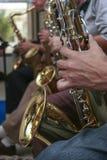 saksofony Zdjęcie Royalty Free