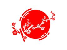 Sakura. stock illustration