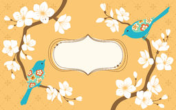 Sakura branches Royalty Free Stock Photos