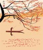 Sakura. cartolina. menu. Fotografie Stock