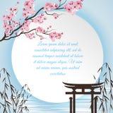 Sakura Cartoon Concept Stock Photos