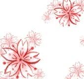 Sakura czereśniowego okwitnięcia ilustracja ilustracja wektor