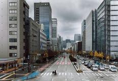 Sakura-Dori Gofuku, Nagoya, Japão Imagens de Stock Royalty Free